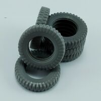 Spare tires for German Sd,kfz.251 for Tamiya