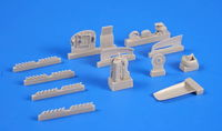Avro Lancaster Mk.I/III - Engine set 1/72 for Airfix kit - Image 1
