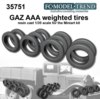 GAZ AAA, weighted tires