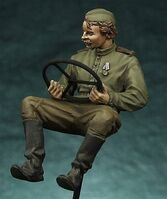 Russian jeep driver - Image 1