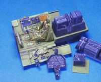 P-51B Cockpit set (for Tamiya/Monogram)