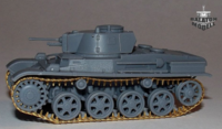Toldi/Stridsvagn photoetched track set for IBG kit - Image 1