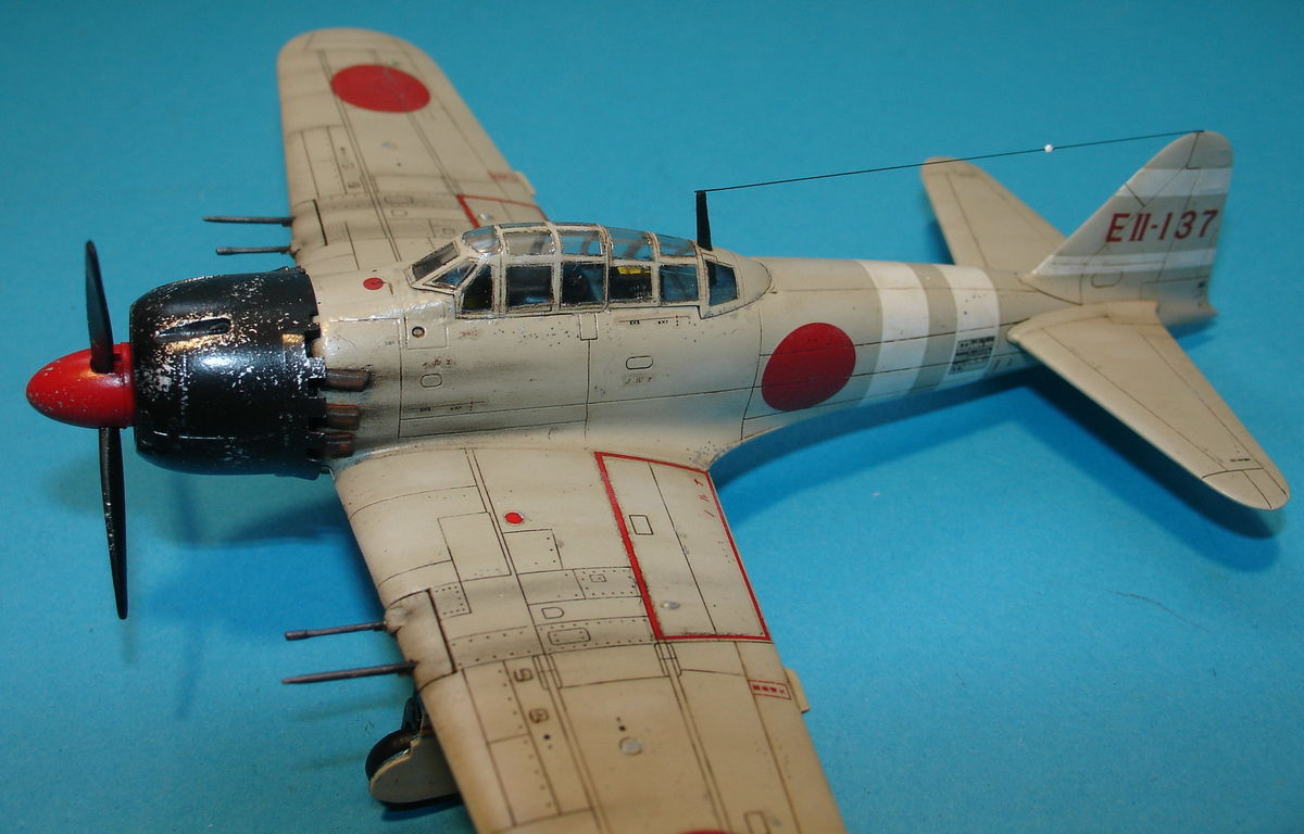 A6M5 Zero Fighter 1/72 Hobby Boss 80241 - 006 - Image 1