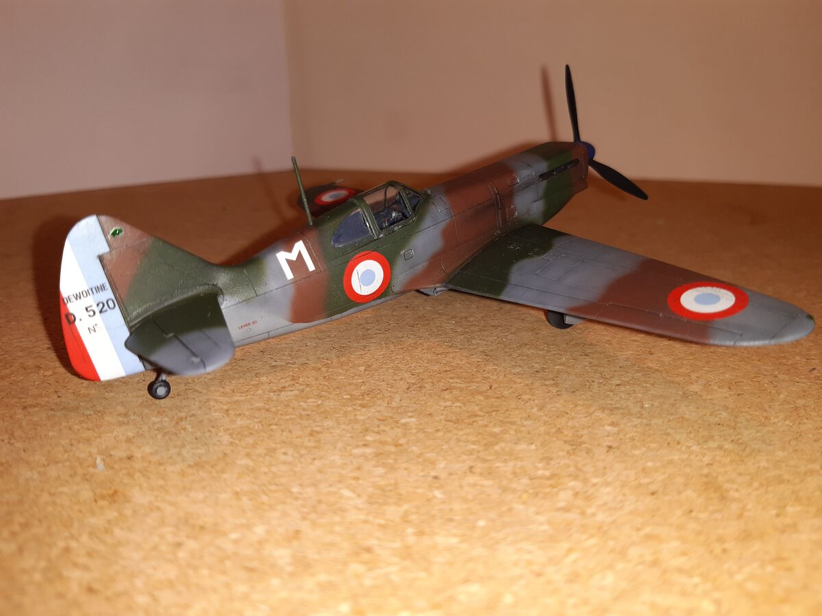 Dewoitine D.520 1/72 Hobby 2000 - 005 - Image 1