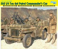 British SAS 1/4 Ton 4x4 Patrol Commanders Car