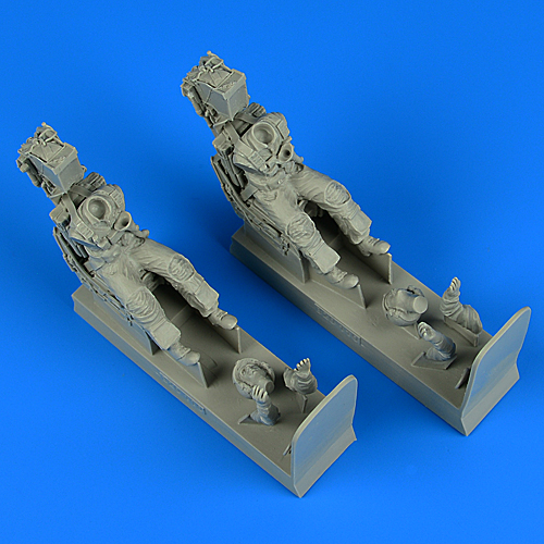 US Navy Pilot & Operator with ej. seats for F-14A/B Tomcat TRUMPETER/TAMIYA - Image 1