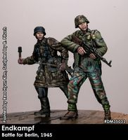 Endkampf, Berlin 1945 (two figures)