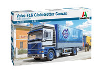 VOLVO F16 Globetrotter Canvas Truck with elevator - Image 1