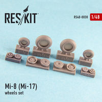Mi-8 (Mi-17) wheels set - Image 1