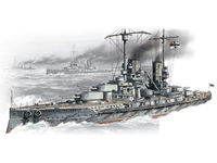WWI German battleship Grosser Kurfuerst