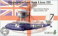 Supermarine Sea Lion III Schneider Cup