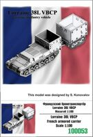 Lorraine 38L VBCP French Armored Carrier