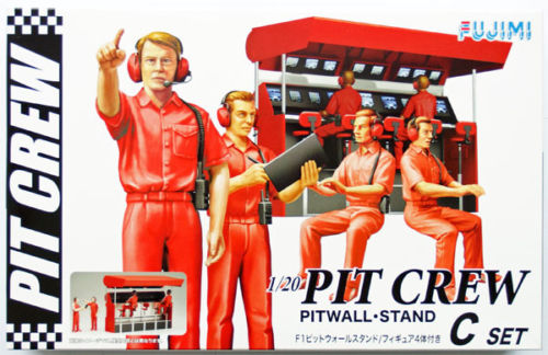 Garage and Tools Series Pit Crew Set C - Image 1