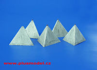 Anti-tank Concrete Barriers - Pyramid-style, Set I - Image 1