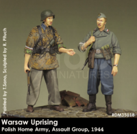 Warsaw Uprising Polish Home Army, Assult Group, 1944