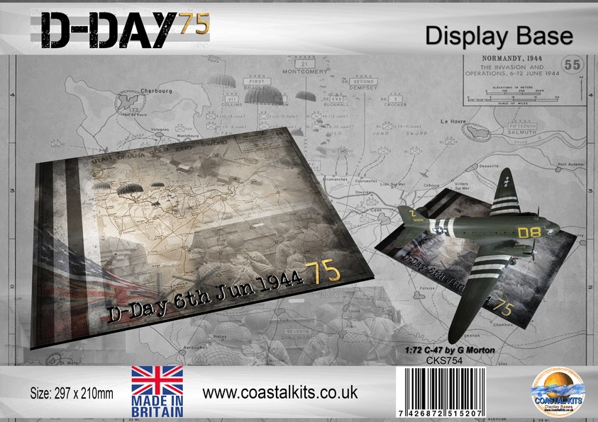 D-Day 75 297 x 210mm - Image 1