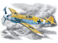 Bf 109F-4Z/Trop WWII German Fighter - Image 1