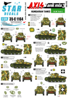 Axis Tank mix # 3. Hungarian tanks in WW2, 38.M Toldi I - Image 1