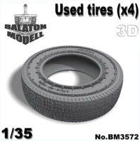 Used tires set No.2 (x4pcs.) - Image 1