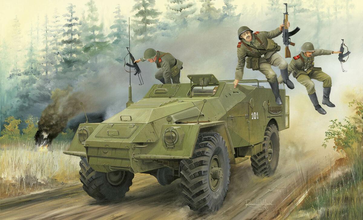 Trumpeter 1//35 05517 Russian BTR-40 APC