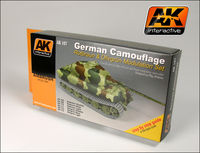 AK 167 German Green And Brown Modulation Set - Image 1
