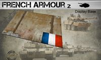 Small French Armour Display Base 2 148 x 105mm - Image 1