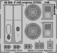 F-14D engines STEEL  TAMIYA - Image 1