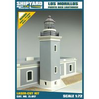 Los Morrillos de Cabo Rojo Lighthouse skala 1:72