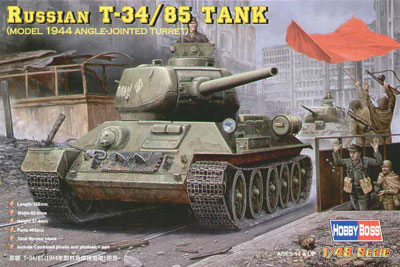 Russian T-34/85(angle-jointed turret) - Image 1