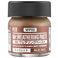 WP05 Mr.Weathering Paste Mud Red