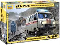Emergency rescue service UAZ 3909
