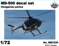 MD-500 heli. Police HUN markings - Image 1
