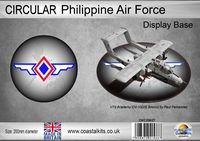 Circular Philippine Air Force 200mm - Image 1