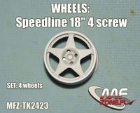 Speedline wheels 5 spoke 4 screw