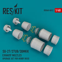 Su-27/27UB/30MKK exhaust nozzles for Hobby Boss - Image 1