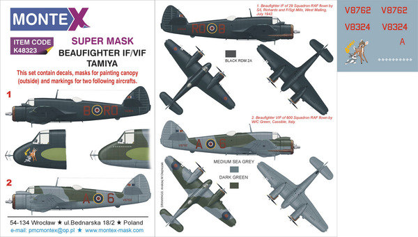 BEAUFIGHTER IF/VIF TAMIYA - Image 1