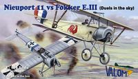 Nieuport 11 vs Fokker E.III (Duels in the sky)