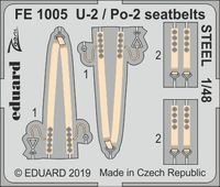 U-2 / Po-2 seatbelts STEEL ICM