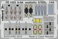 A-6A seatbelts STEEL  HOBBY BOSS