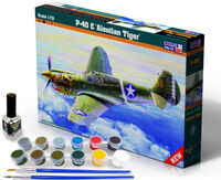 P-40 E Aleutian Tiger - Model Set - Image 1