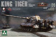 Sd.Kfz.182 King Tiger Henschel Turret with Zimmerit Pz.Abt.505 with New Track Parts