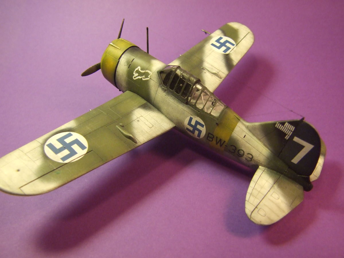 Brewster Buffalo Special Hobby 1/48 - 001 - Image 1