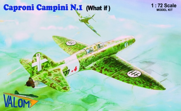 "Caproni Campini N1 Italian jet aircraft in ""What if"" marking - Image 1"