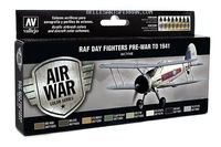 71149 Air War Color Series - RAF Day Fighters Pre-War to 1941 Set