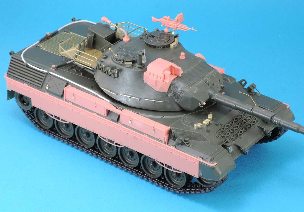 Leopard 1A5BE Conversion set (for Meng 015) - Image 1