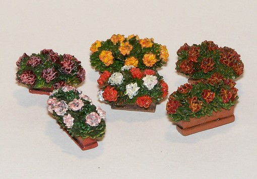 Flowers in boxes - Image 1