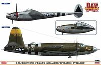 "P-38J LIGHTNING & B-26B/C MARAUDER ""OPERATION OVERLORD"""