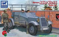 Adler Kfz.14 Radio Armored Car