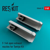 F-14A Tomcat open exhaust nozzles for Tamiya Kit - Image 1