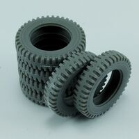 Spare tires for US 2,5ton 6x6 Truck for Tamiya - Image 1